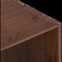 Etagère 1 case en chêne massif H37cm-CAZAL