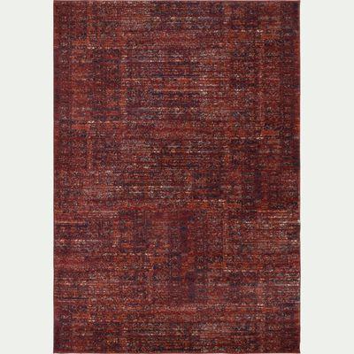 Tapis à motifs - rouge sumac 120x170cm-ANNOUK
