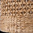 Suspension naturelle en jacinthe d'eau D45xH50cm-VARAGE