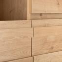 Buffet bas coloris chêne L152,8cm-MADERA