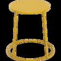 Table d'appoint de jardin - jaune argan (D34cmxH43cm)-Ikaria