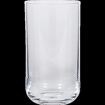 Verre transparent en verre forme haute 45cl-SUBLIME