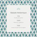 Recharge pour diffuseur senteur Balade Hellénique 500ml-BALADE
