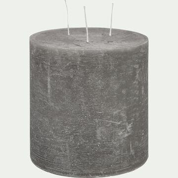 Bougie lanterne - gris restanque D15xH15cm-BEJAIA