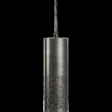 Suspension en métal noir H30cm-NOUR