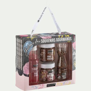 Coffret souvenirs gourmands-AUTOUR DE
