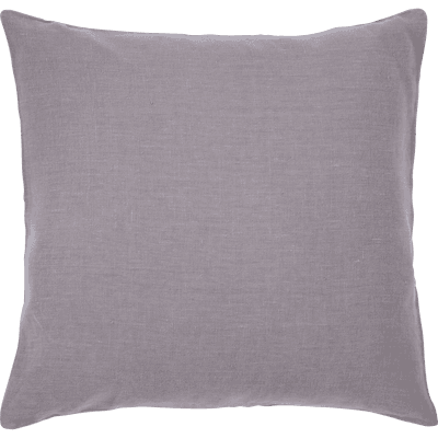 Coussin de sol en lin lavé gris restanque 70x70cm-VENCE
