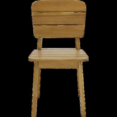 Chaise pour enfant en bois d'acacia-OLIVIA