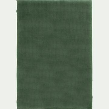 Tapis imitation fourrure - vert cèdre 150x200cm-ROBIN
