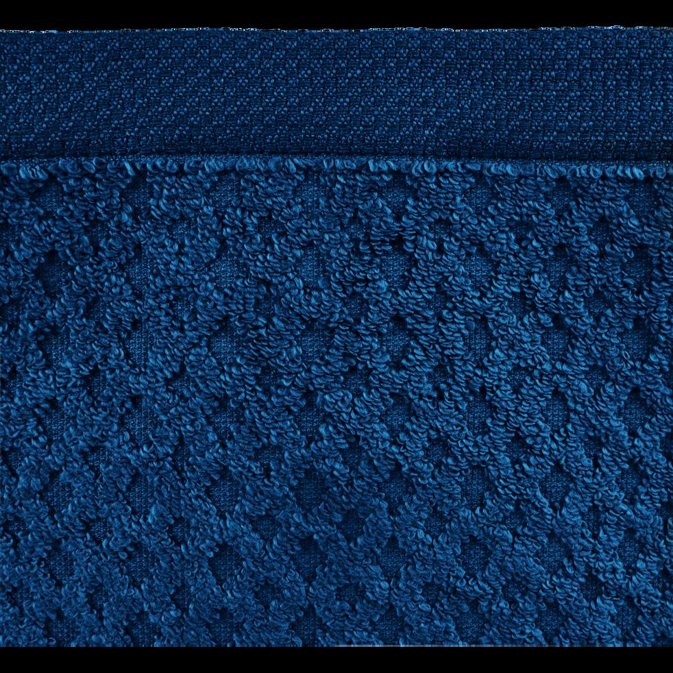 Lot de 2 gants en coton bleu figuerolles-ETEL