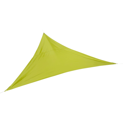 Voile d'ombrage triangulaire vert anis-Rosa