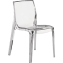 chaise design transparente becca chaises alinea. Black Bedroom Furniture Sets. Home Design Ideas