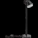 Lampadaire en métal noir H140cm-BEYA