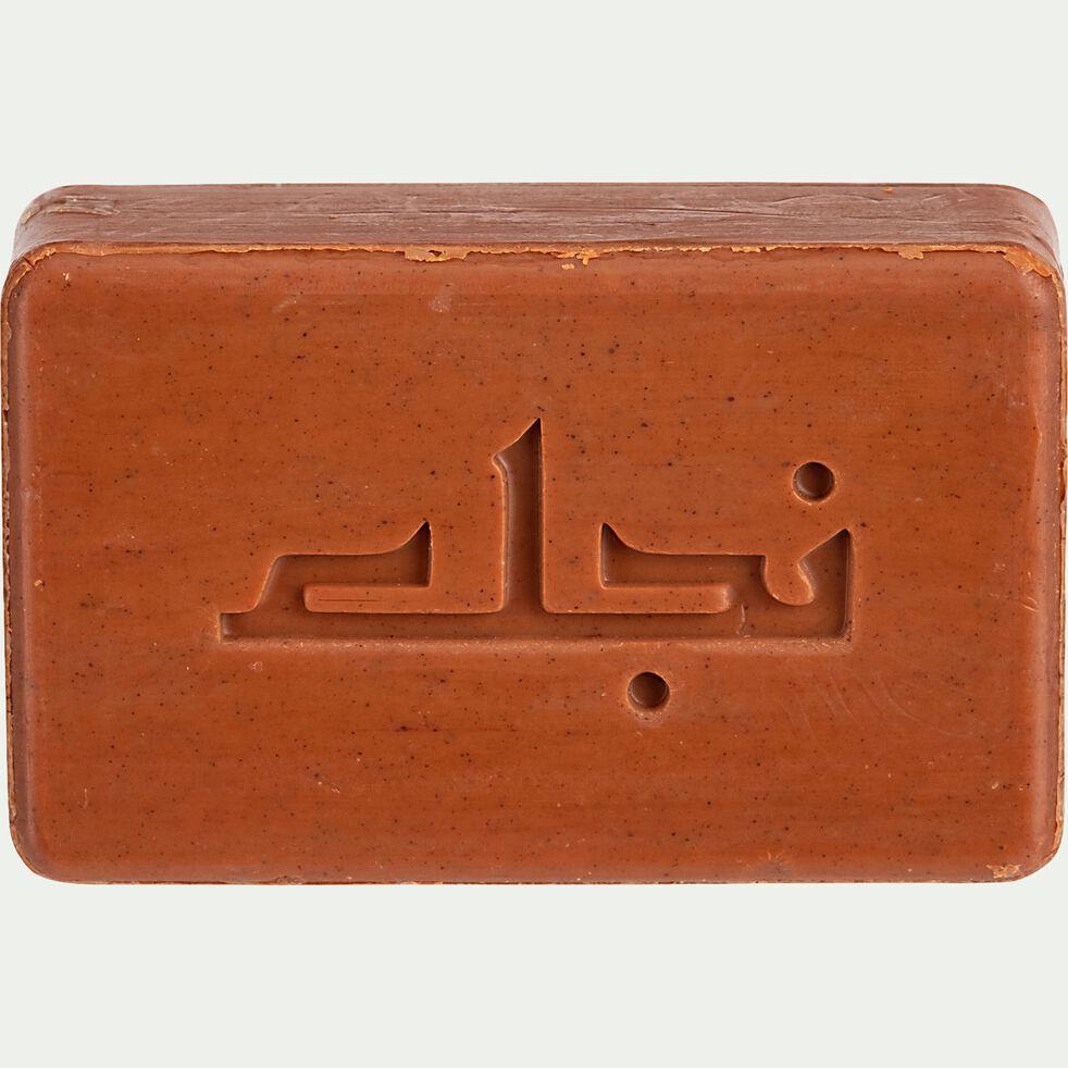 Savon d'Alep et argan rhassoul rectangulaire 100g-Elias