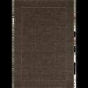 Tapis extérieur et intérieur coloris marron - Plusieurs tailles-KELLY