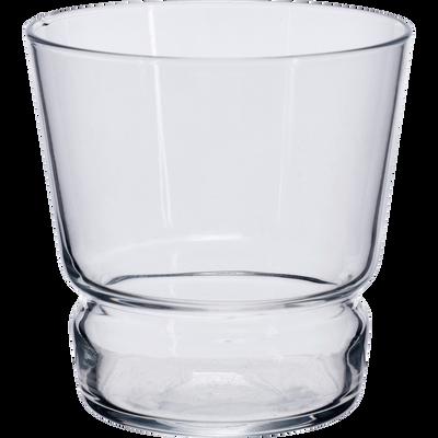 Verre transparent en verre 35,5cl-BRERA
