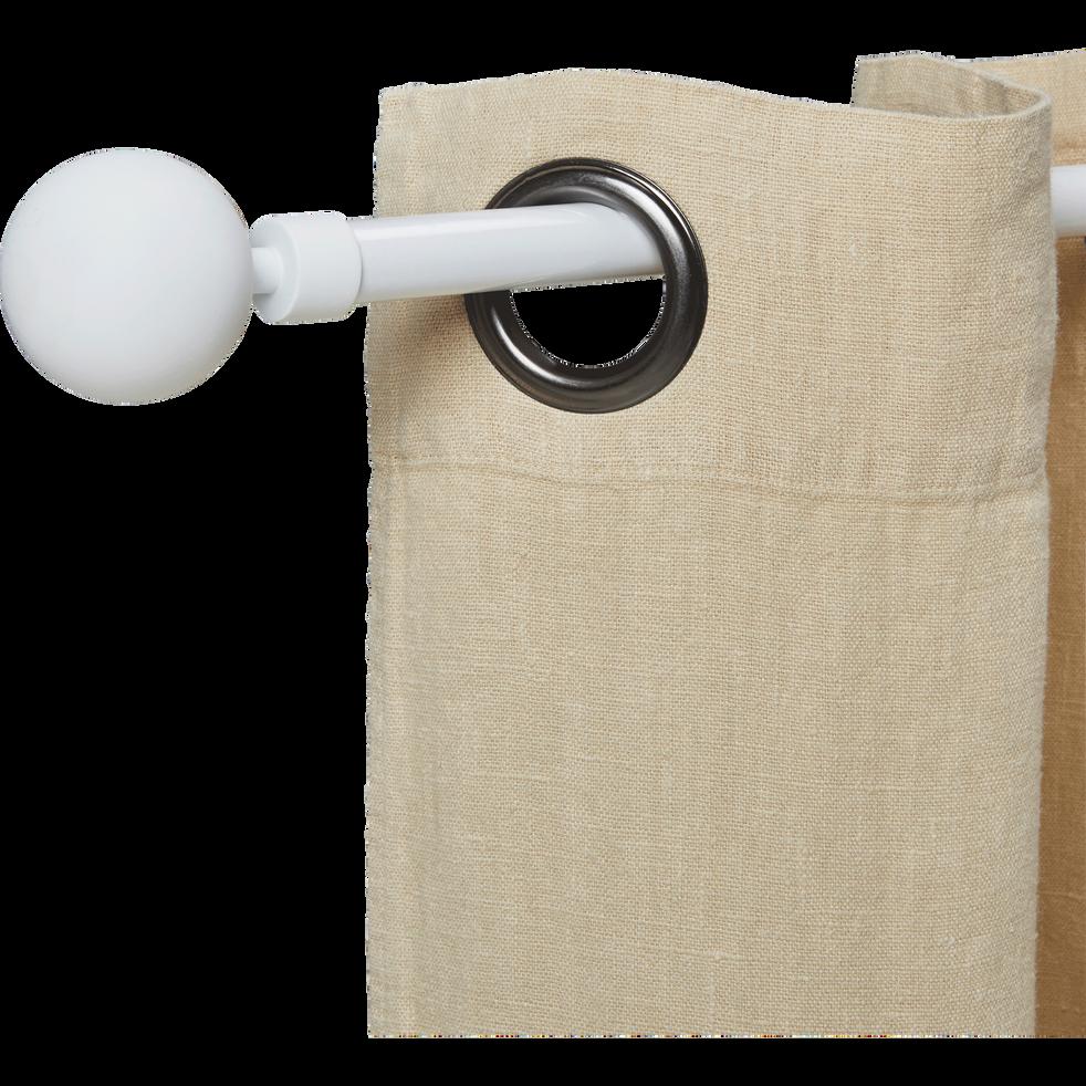 Tringle extensible blanc mat 120 à 210cm-SPHERE