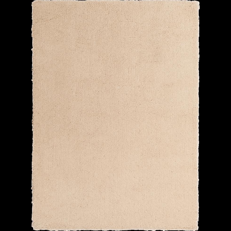 tapis shaggy beige roucas 120x170cm celan 120x170 cm. Black Bedroom Furniture Sets. Home Design Ideas