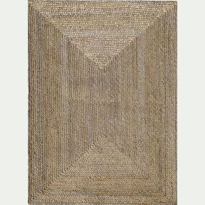 Tapis tressé en jute - naturel 120x170cm-RUSH