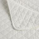 Jeté de lit effet lavé blanc ventoux 180x230cm-THYM