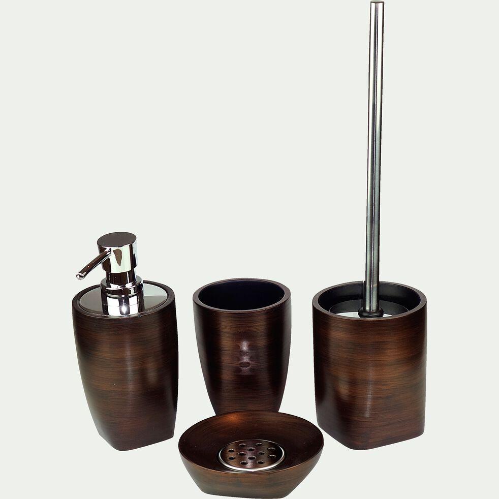 Porte-savon marron métallisé-TONKA
