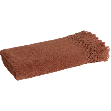 Serviette 45x90cm marron-BAHA