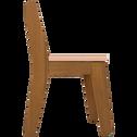 Chaise en acacia pour enfant rose sable-RAPHAEL