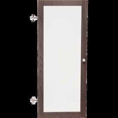 Porte vitrée coloris chêne grisé-Biala