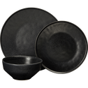 Coupelle en grès noire D15cm-COPA
