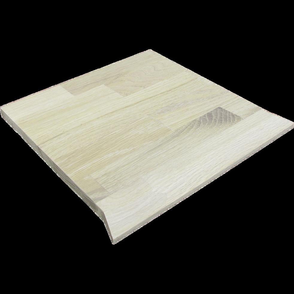 Tablette biseautée en chêne clair L35.1cm-FINE