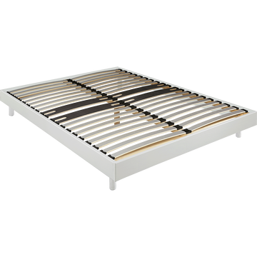 Sommier tapissier blanc Alinéa 12,5 cm en kit - 160x200 cm-DECOKIT