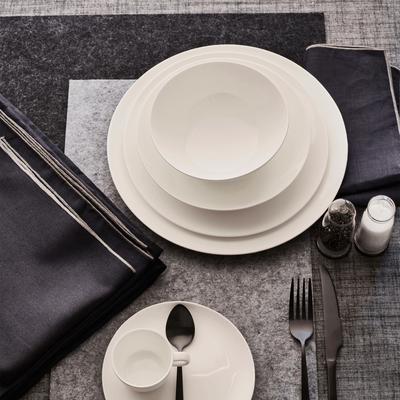 Set de table en feutrine noir 30x45cm-JAURES