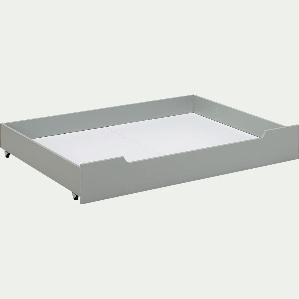 Tiroir sous lit en bois - vert olivier-POLLUX
