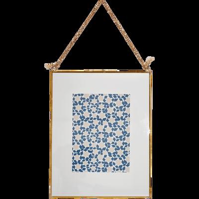Image encadrée 19x23 cm-ZELLIGES