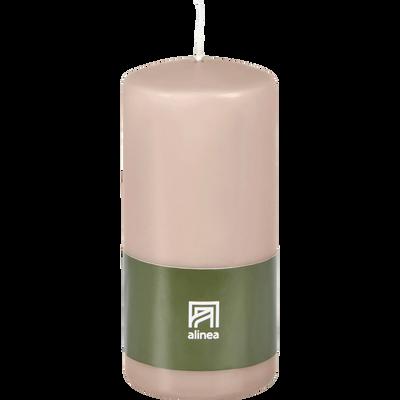 Bougie cylindrique grège-HALBA