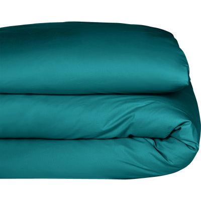 Housse de couette en coton bleu niolon 140x200cm-CALANQUES