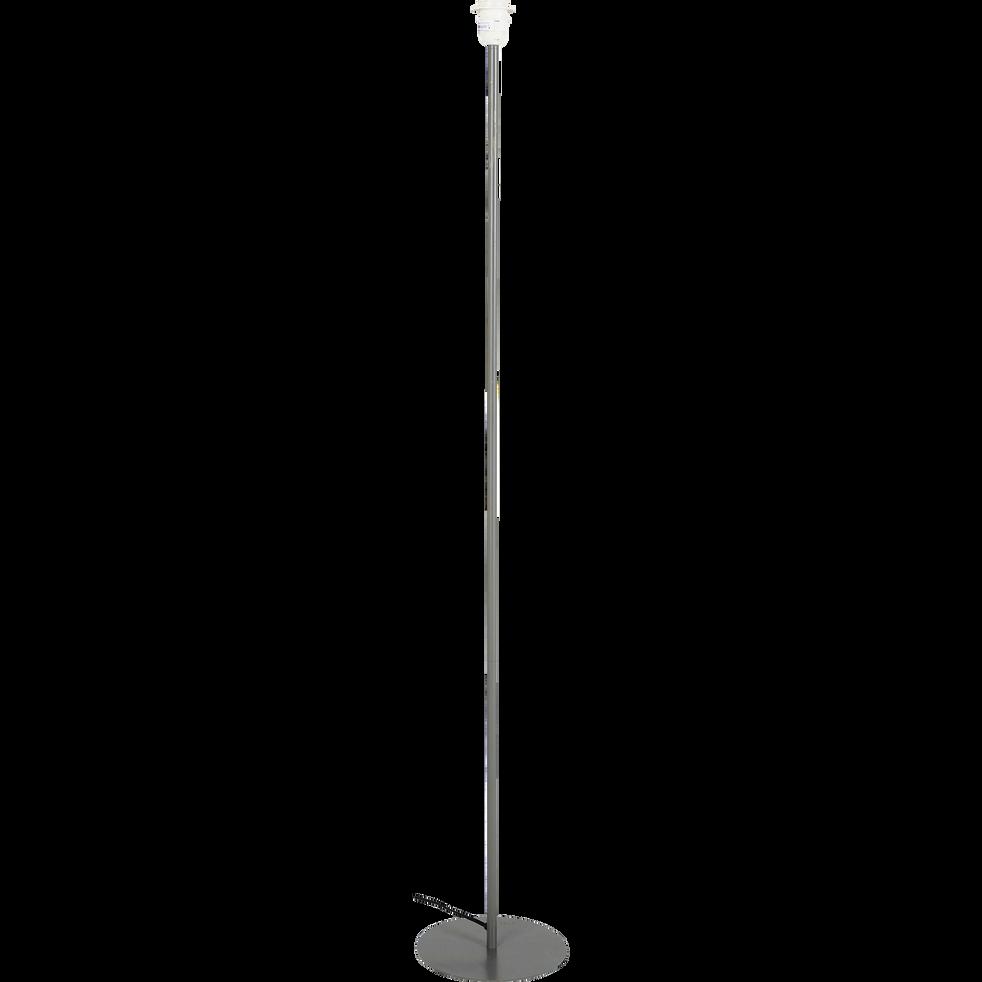 Pied de lampadaire en métal vert cèdre H141cm-OLIVIO