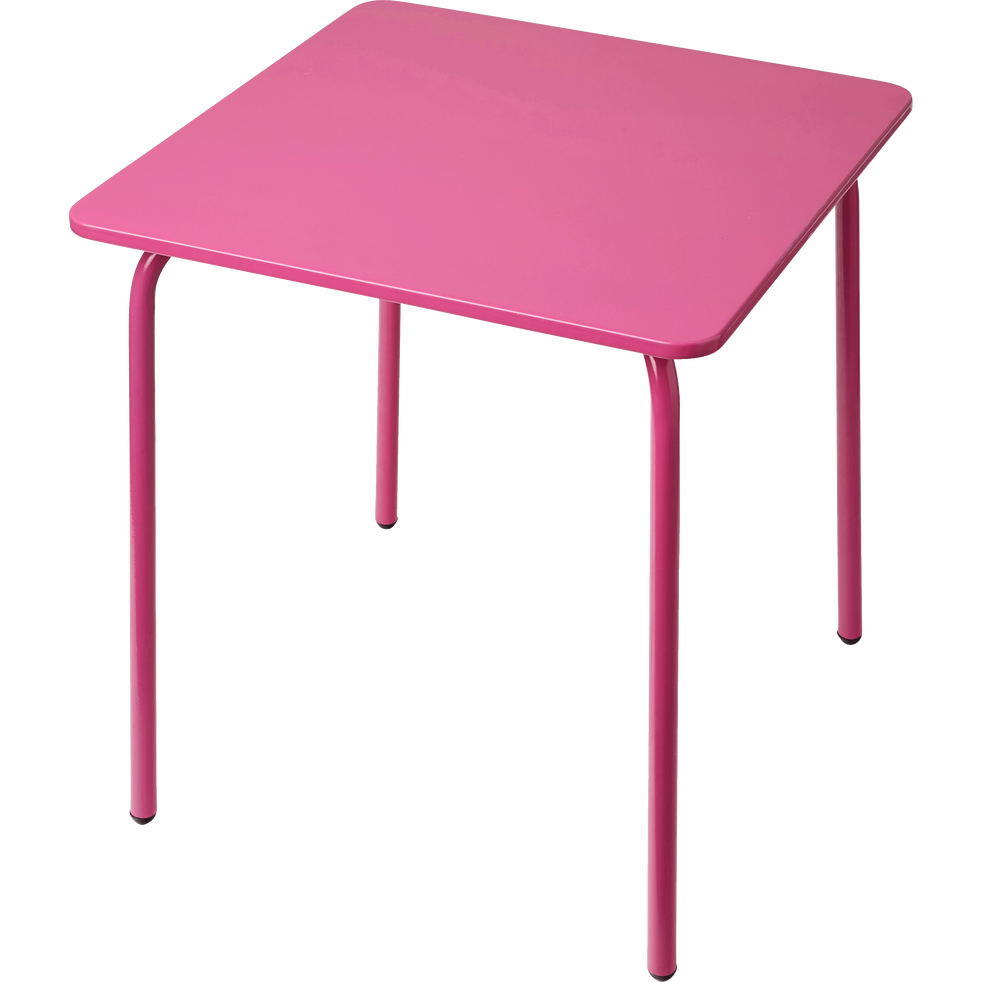 table de jardin pour enfant rose cotia tables et. Black Bedroom Furniture Sets. Home Design Ideas