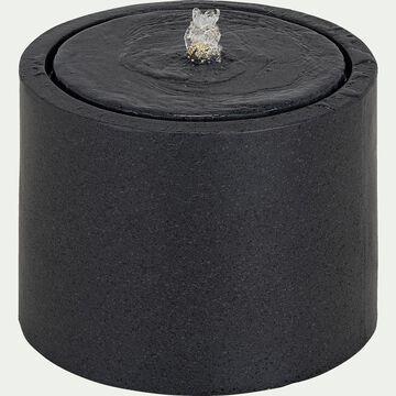 Fontaine avec LED - noir-VASIA