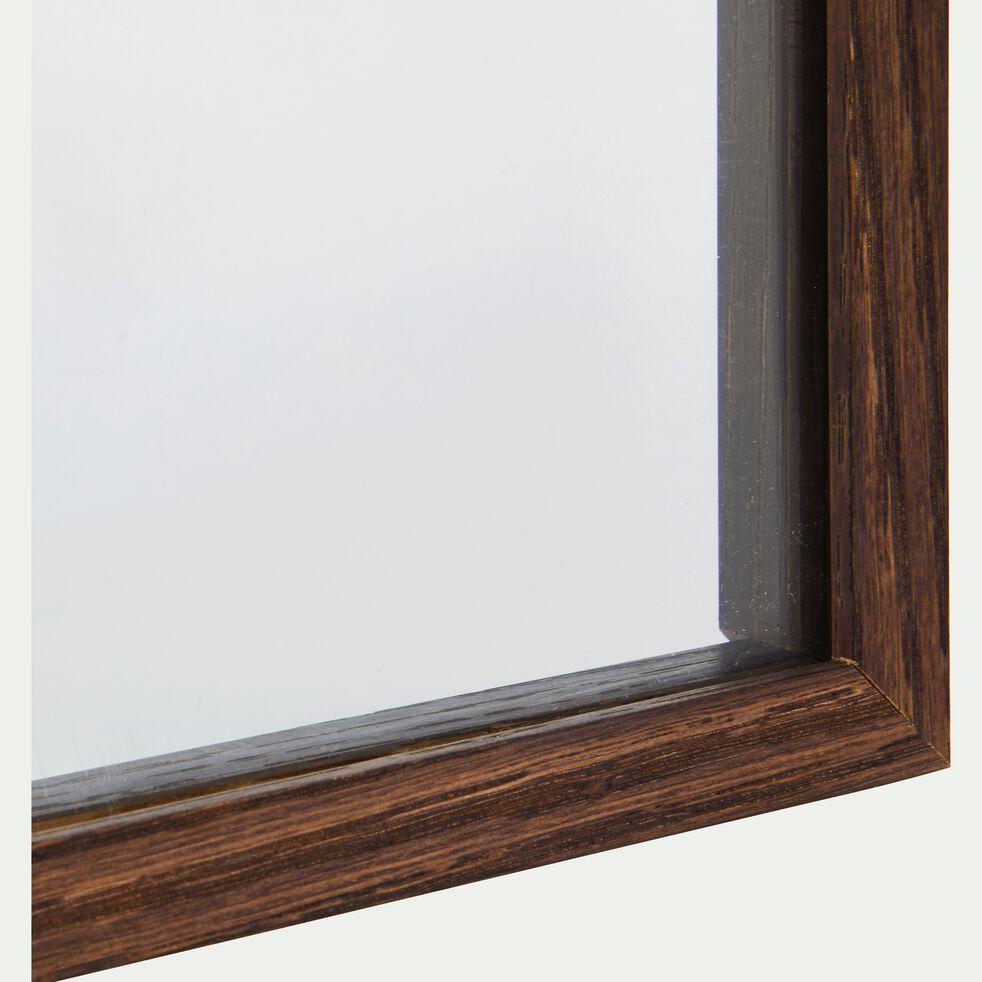 Cadre en frêne entre deux verres (plusieurs tailles et coloris)-FRENE