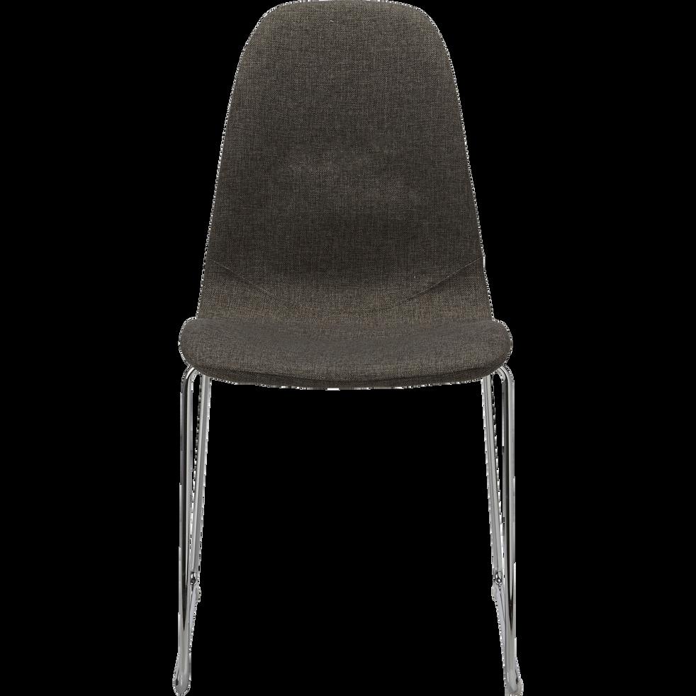 Chaise En Tissu Gris BUCURA