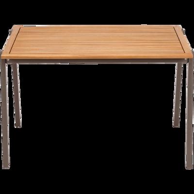 Table de jardin enfant 50x82x60cm brun châtaigner-MAXIME