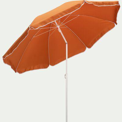 Parasol de plage (D180cm) - marron rustrel-GASSIN