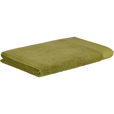 Drap de bain en coton 100x150cm vert garrigue-AZUR