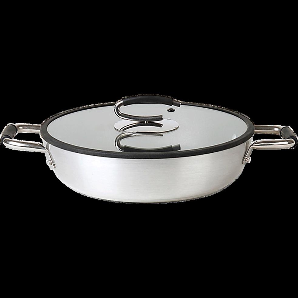 Sauteuse avec couvercle D28cm (tous feux dont induction)-SPLENDIDA