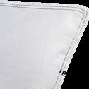 Housse de couette en coton blanc 240x220cm et 2 taies-CABANON