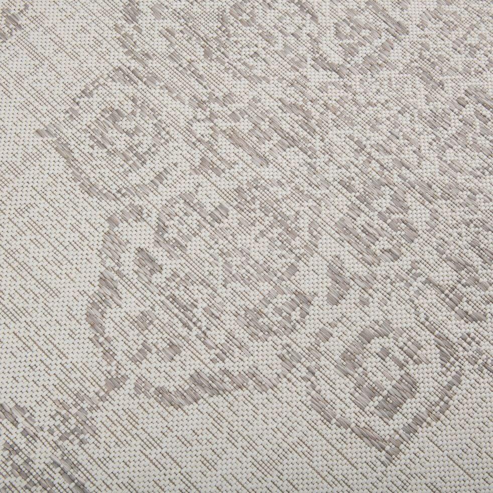 Tapis persan intérieur et extérieur - écru 120x170cm-MARQUISE