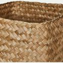 Panier en jonc naturel lot de 2-LILY