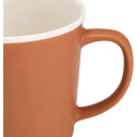 Mug en porcelaine orange 35cl-CAFI