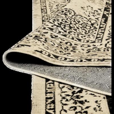 Tapis écru et gris clair 160x230cm-CAPADOCE